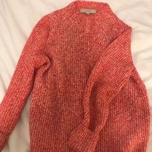 LOFT thick marled sweater